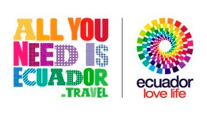 Logo All you need is Ecuador